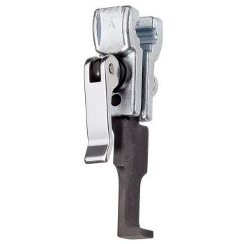 Abzughaken mit Schnellspann-Klemmstück 100 mm