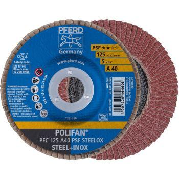 POLIFAN®-Fächerscheibe PFC 125 A 40 PSF/22,23