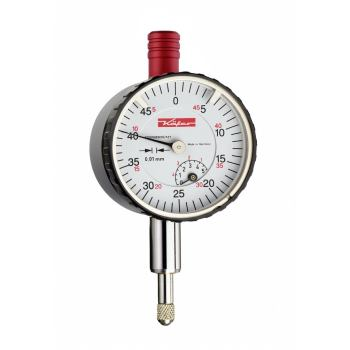 Kleinmessuhr 0,01mm / 5mm / 40mm / Stoßschutz / ISO 463 - DIN 878 10010