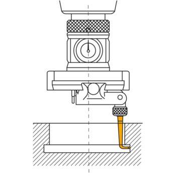 Winkeltasteinsatz Kugeldurchmesser 2,5 mm