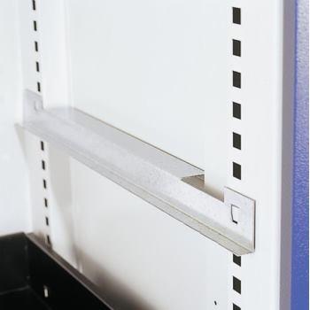 Fachboden verzinkt ausziehbar, BxT 1000x600 mm Tra