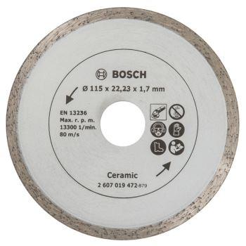 Diamanttrennscheibe für Fliesen, Durchmesser: 115