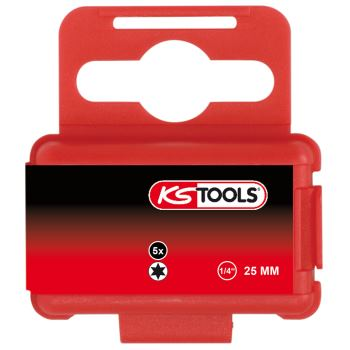"1/4"" TORSIONpower Bit TX, 25mm, T20, 5er Pack 918."