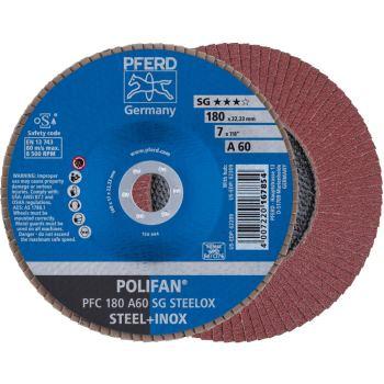 POLIFAN®-Fächerscheibe PFC 180 A 60 SG/22,23