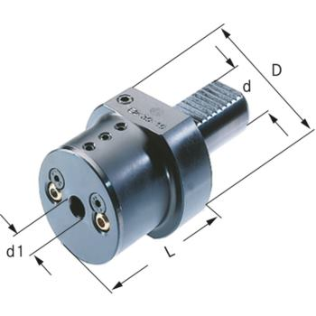 Bohrstangenhalter E2-40-10 DIN 69880
