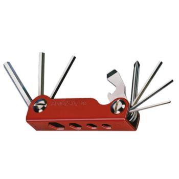 Schraubwerkzeuge 13-teilig im Handklapphalter