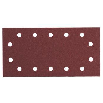 10 Haftschleifblätter, 115x230 mm, Sortiment, Holz