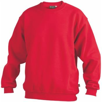 Sweatshirt rot Gr. 5XL