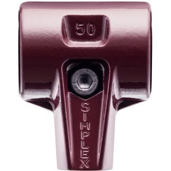 SIMPLEX Tempergussgehäuse für 80 mm Hammerdurchme