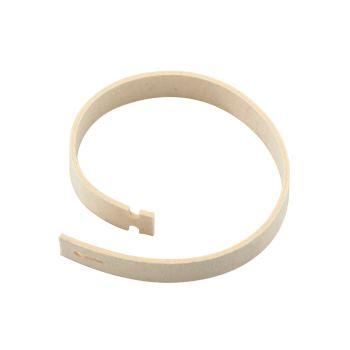 Filzband 30x600 mm, mit Knopflochverschluss, für S