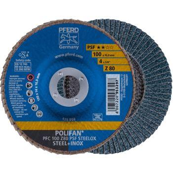 POLIFAN®-Fächerscheibe PFC 100 Z 80 PSF/16,0