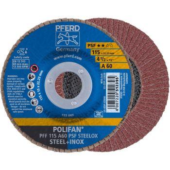 POLIFAN®-Fächerscheibe PFF 115 A 60 PSF/22,23