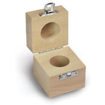 Holzetui, 1 x 10 kg / F2 + M1, Buche 337-140-200