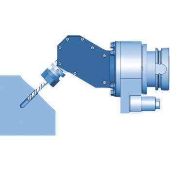 Winkelfräskopf 0-90 Grad WDX07 SK40 einstellbar