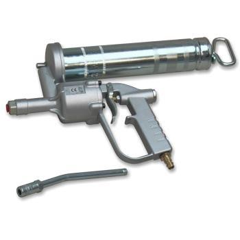 -Einhand-Druckluft-Fettpresse DF 500 mit Düsen