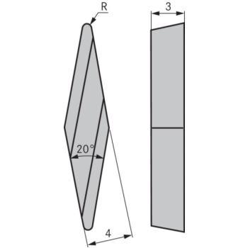 Kopierdrehplatte XBGR 100304 SPR OHC7620
