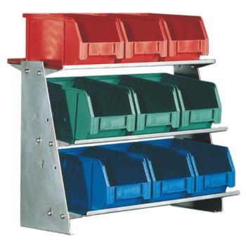 Tischständer Modell 3 mit Sichtlagerkästen