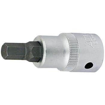 Schraubendrehereinsatz 4 mm 3/8 Inch für Innensech skant