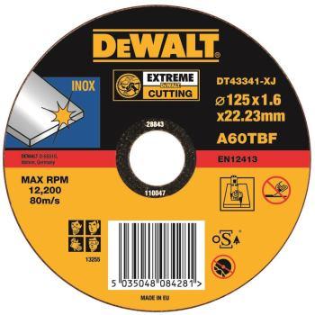 EXTREME Edelstahl-Trennscheibe - flach DT43341