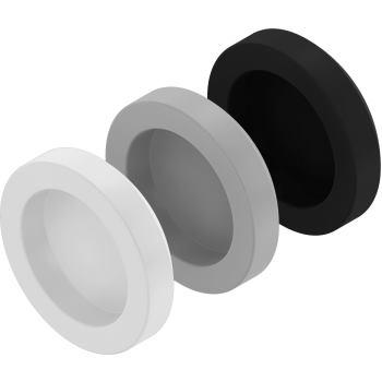 Kappen für Kappenkopfschrauben ähnl. DIN 7981 RAL 9006 - grau