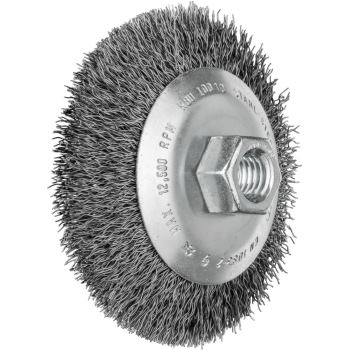 Kegelbürste mit Gewinde, ungezopft KBU 10010/M14 ST 0,35