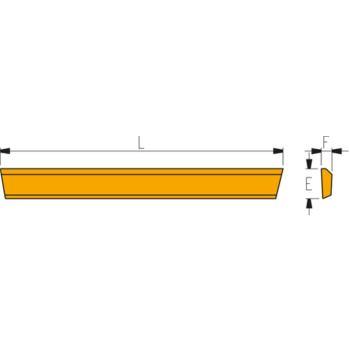 Abstechmesser HSS Größe A 1/2a F
