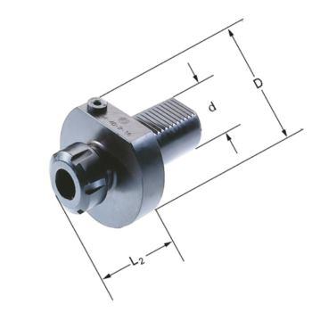 Spannzangenfutter E4 - 30 mm ER 25 DIN 69880
