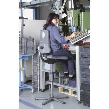 BIMOS Arbeitsstuhl Sintec mit Gleiter und Aufstieg
