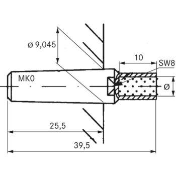 Vielkorn-Abrichter Typ 'DIAROND' Durchmesser Größe