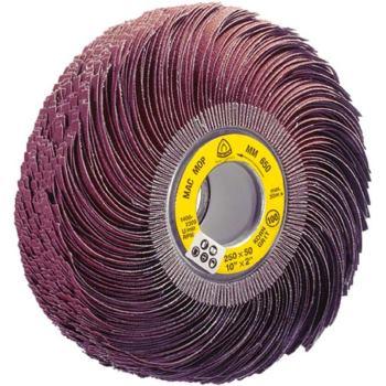 Schleifmop-Rad, MM 650, Abm.: 250x50 Korn: 100