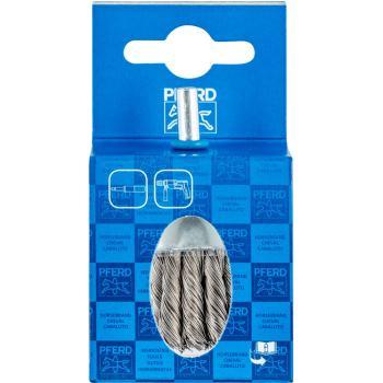 Pinselbürste mit Schaft, gezopft POS PBG 3030/6 INOX 0,35