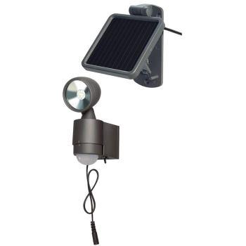 Solar LED-Spot SOL 1x4 IP44 mit Infrarot-Bewegungs