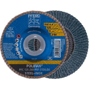 POLIFAN®-Fächerscheibe PFC 125 Z 80 PSF/22,23