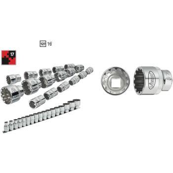 Multiprofilsteckschlüssel-Satz 1/2