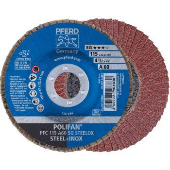 POLIFAN®-Fächerscheibe PFC 115 A 60 SG/22,23