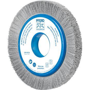 Rundbürste mit Plastikkörper, ungezopft RBUP 20025/50,8 SiC 320 0,55
