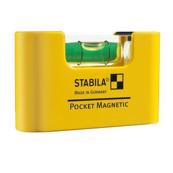 Miniformat-Wasserwaage Pocket Magnetic / 6,8cm