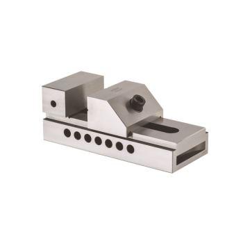 Schleif- und Kontrollschraubstock PLF, Größe 2, Backenbreite 100, mit Schnellverstellung