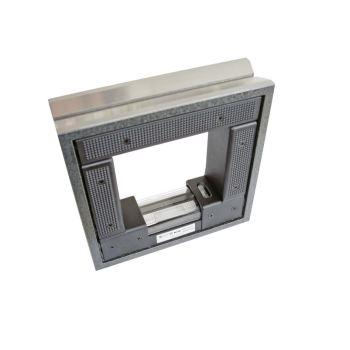 Rahmenwasserwaage im Etui 100 mm Empf. 0,1 mm/m