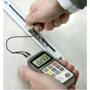 Ultraschall-Miniatur-Prüfkopf 7 MHz, Durchm. 6 mm,
