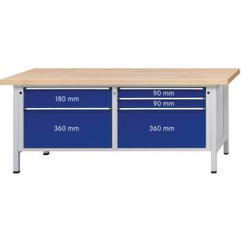 Kastenwerkbank Modell 230 VX XXL Schubladen
