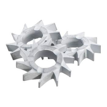 Frässterne flach (Set=15 Stück)