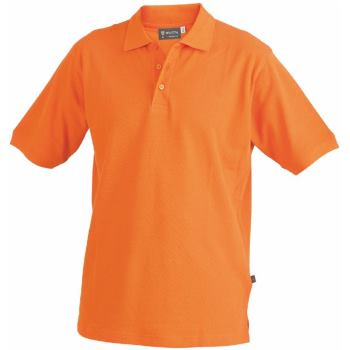 Polo-Shirt orange Gr. 4XL