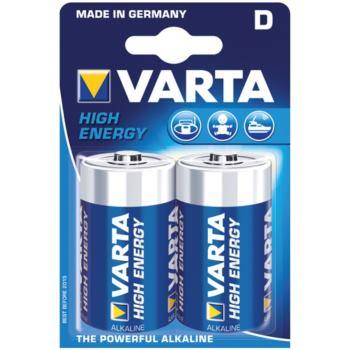 Batterien HIGH ENERGY Mono Blister 2 Stück 1,5 V
