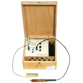 Elektroschreiber 50 Watt im Holzkasten