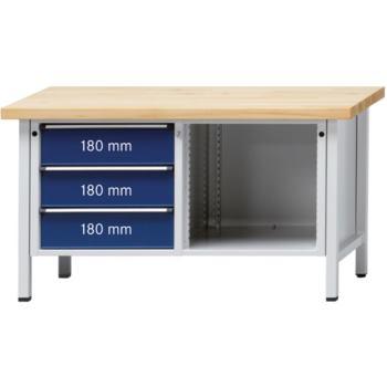 Werkbank Modell 103 V Platte Buche-Massiv 150