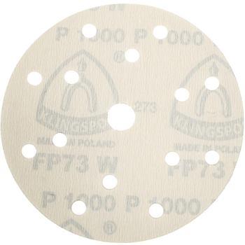 Schleifpapier,wirkstoffb.,kletthaft.,PS 73 BWK/CWK , Abm.: 150 mm, Korn: 400