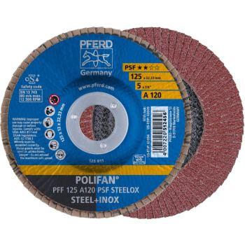 POLIFAN®-Fächerscheibe PFF 125 A 120 PSF/22,23