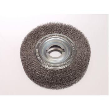 Entgrat-Rundbürsten Drm 250 mm breit 55-60 mm R ohr 100 mm Stahldraht STH gew. 0,35 mm