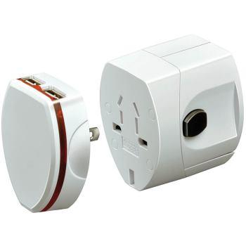 Weltreisestecker BWA USB 1508390